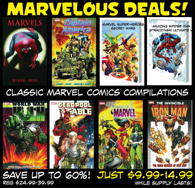 marvel Book Deal