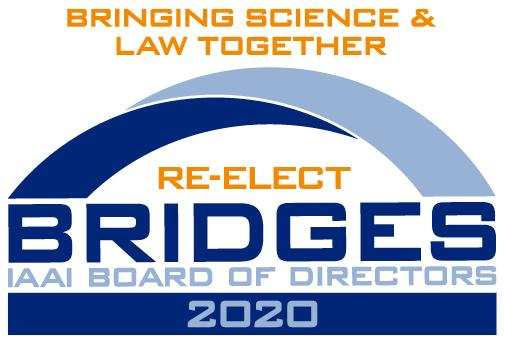 Re-Elect David E. Bridges to IAAI Board of Directors in 2020 - Letterhead Campaign Logo