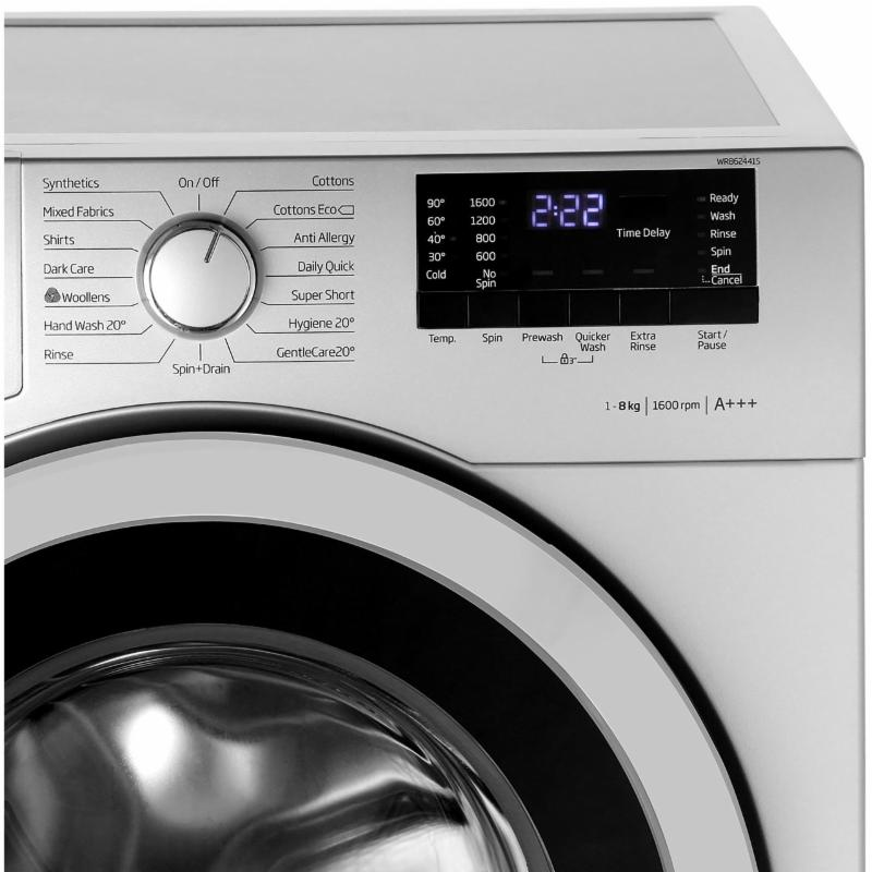 washing machine with touch screen cu