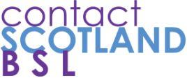 contactSCOTLAND-BSL logo