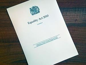 Front cover of the 2010 Equality Act