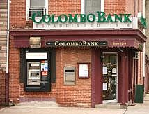 Colombo Bank exterior