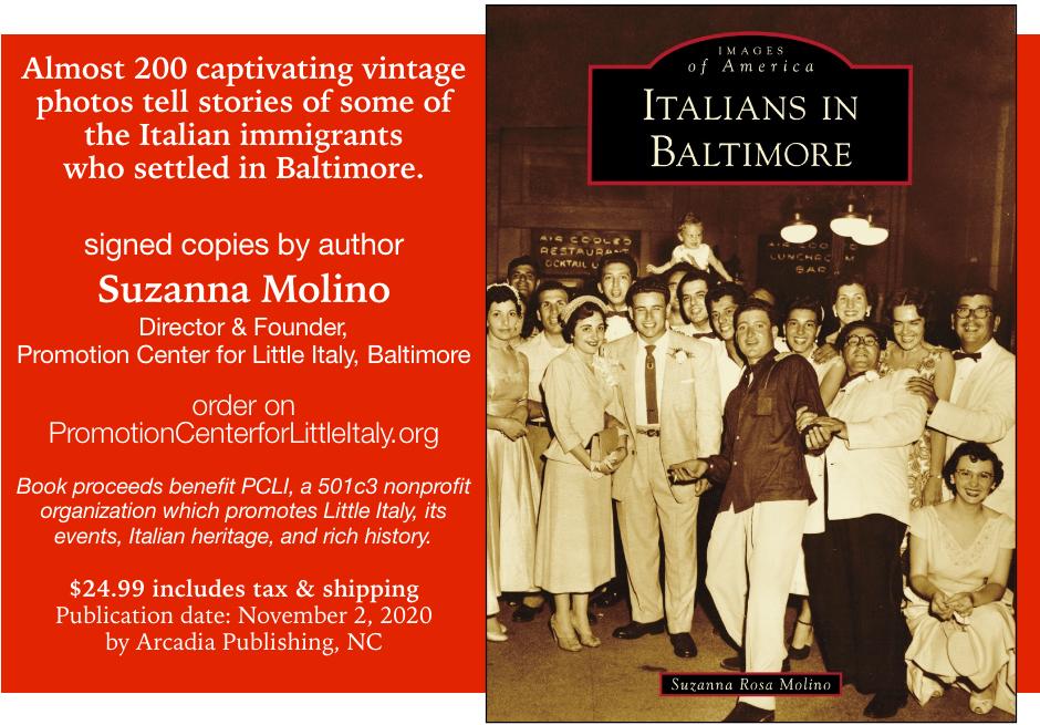 Italians in Baltimore promo artwork
