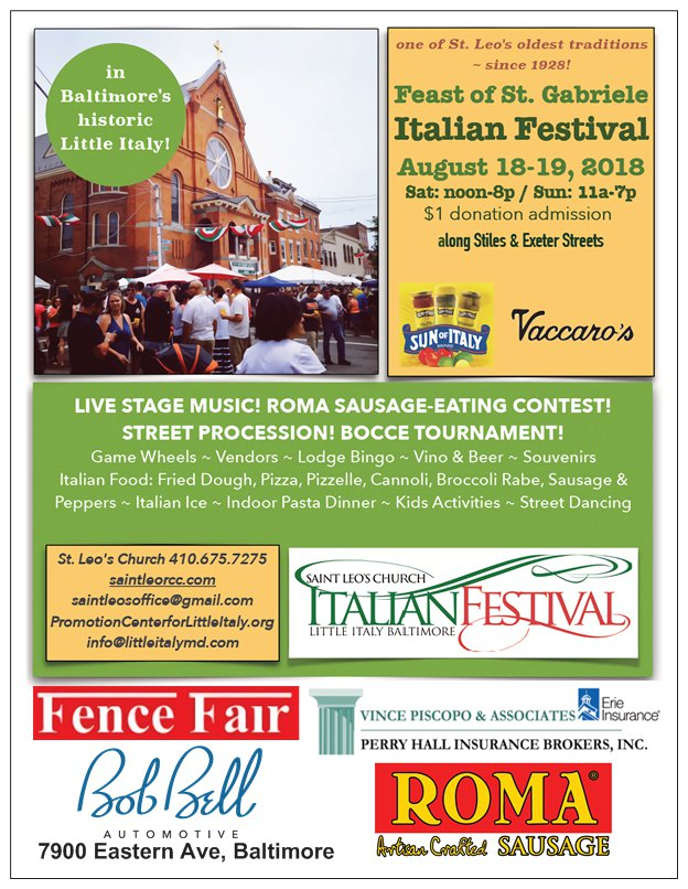 festival promo postcard