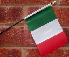 italian flag photo