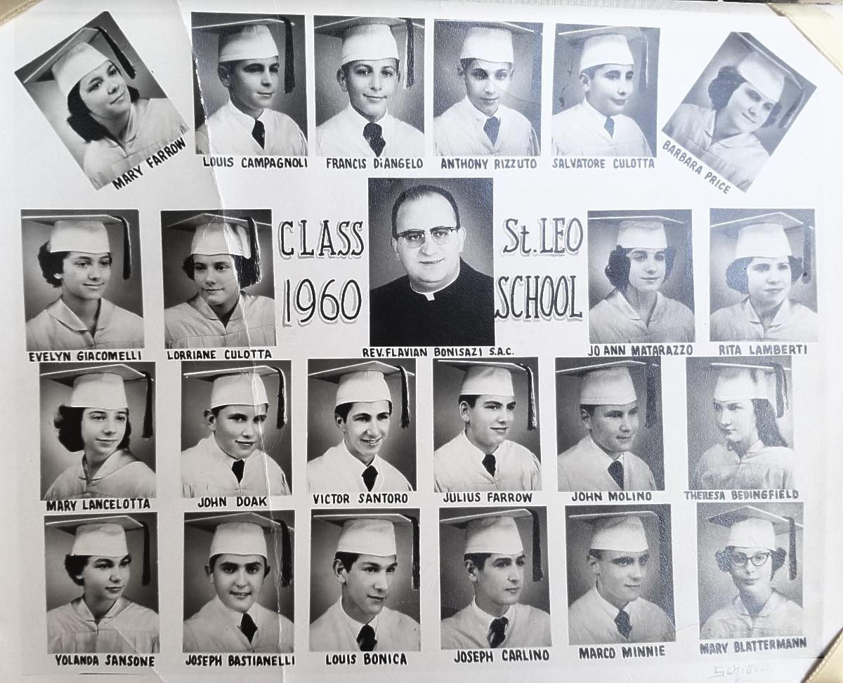 1960 St. Leo's class photo