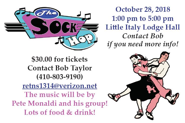 Lodge Sock Hop poster