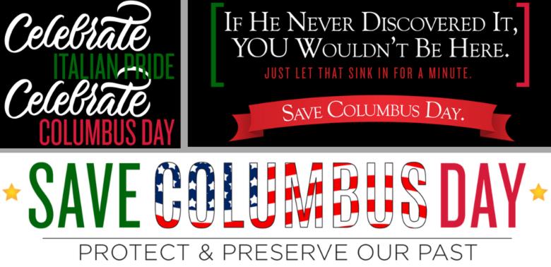 columbus day promo