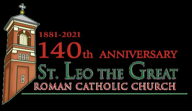 St. Leo's 140th anniversary logo