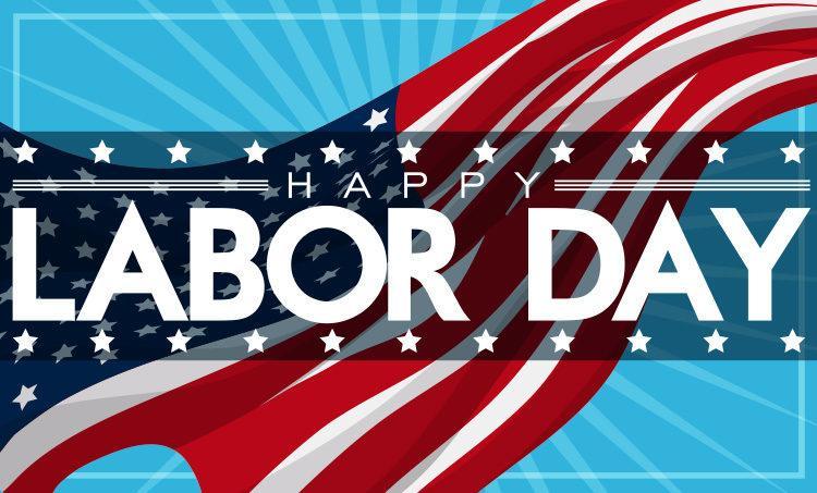 Happy Labor Day - graphic image