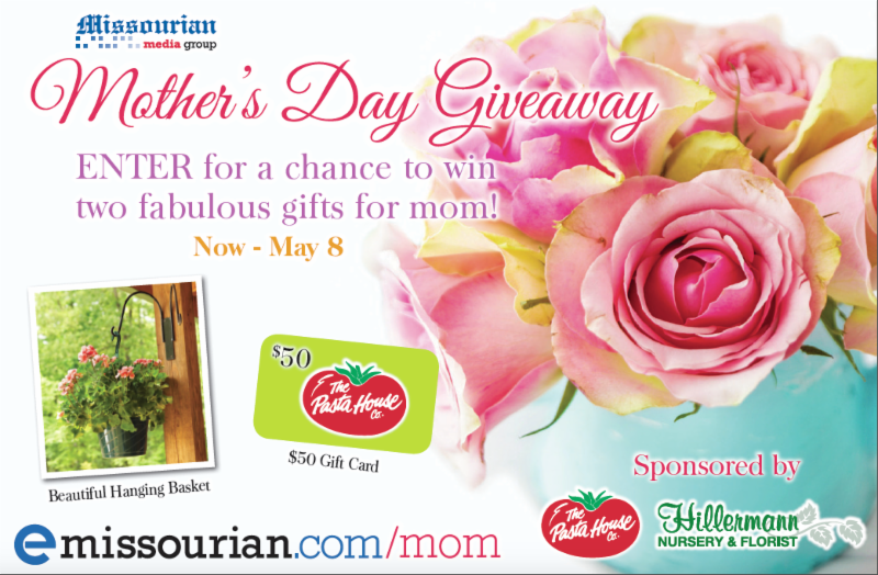 Mother's Day Giveaway - Missourian Graphic - May 2019