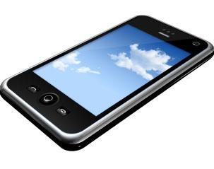 Picture of a mobile phone