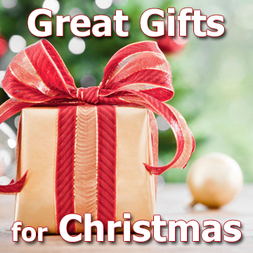 Great Gifts for Christmas - photo and text