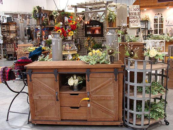 Decor items available at Hillermann Nursery and Florist