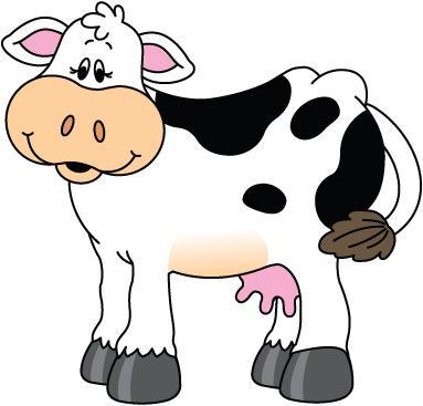 Cow clip art picture