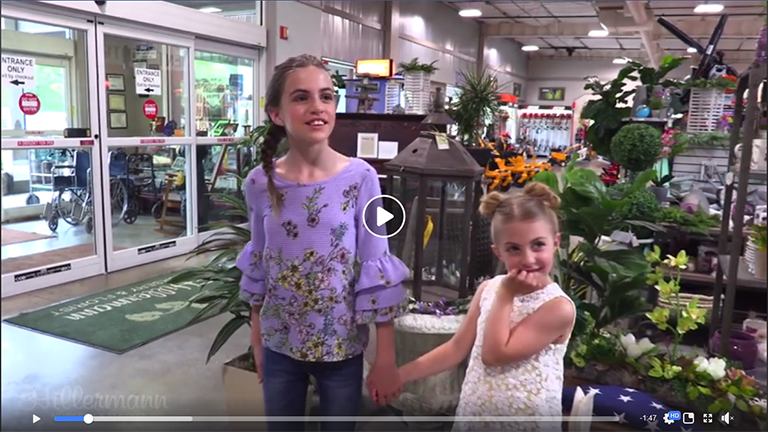 Video image - Anna and Gabby mothers day shopping 2019