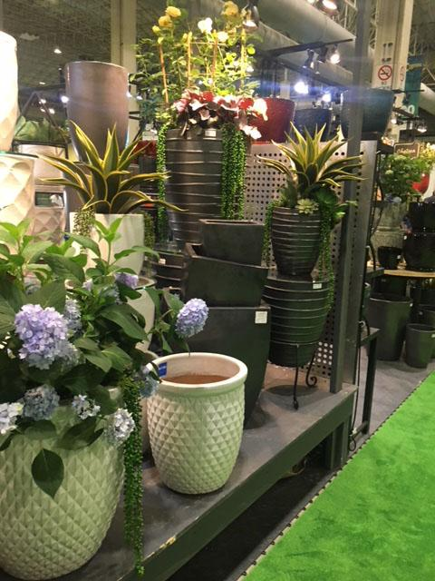 Items at the Independent Garden Centers show in Chicago - August 2018