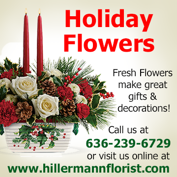 Fresh Holiday Flowers make great gifts and decorations! Call Hillermann Nursery and Florist to order - or order online at hillermannflorist.com