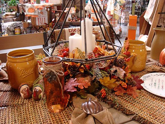 Items and displays available at Hillermann Nursery and Florist