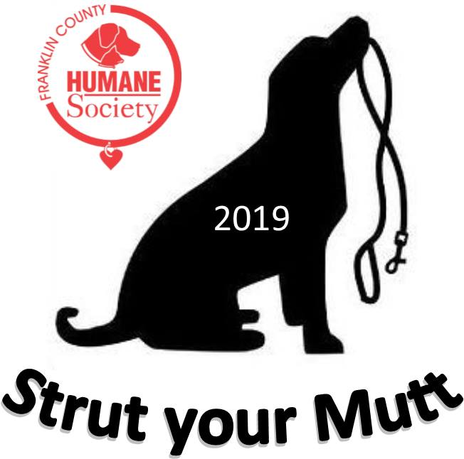 Strut Your Mutt 2019 by Franklin County Humane Society - event image logo