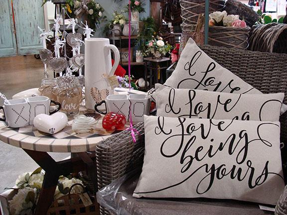 Display and items available at Hillermann Nursery and Florist - February 2019