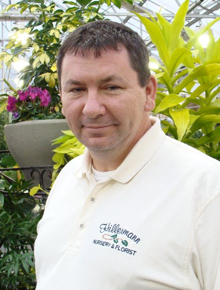 Keith Kennedy, the Landscape Superintendent at Hillermann Nursery and Florist