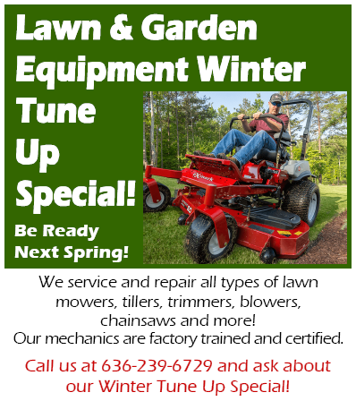 Equipment Winter Tune Up Special