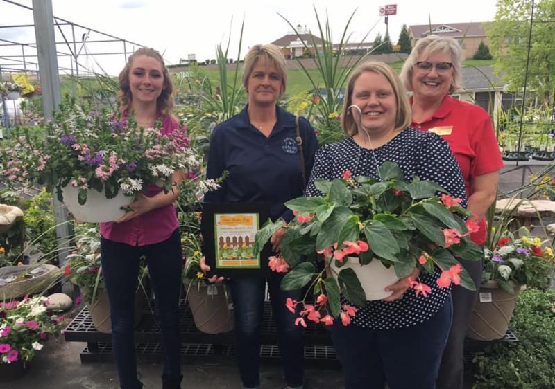 Hope Ranch of Missouri - Event held at Hillermann Nursery & Florist and giving back to Graces Place Crisis Nursery 4-13-19