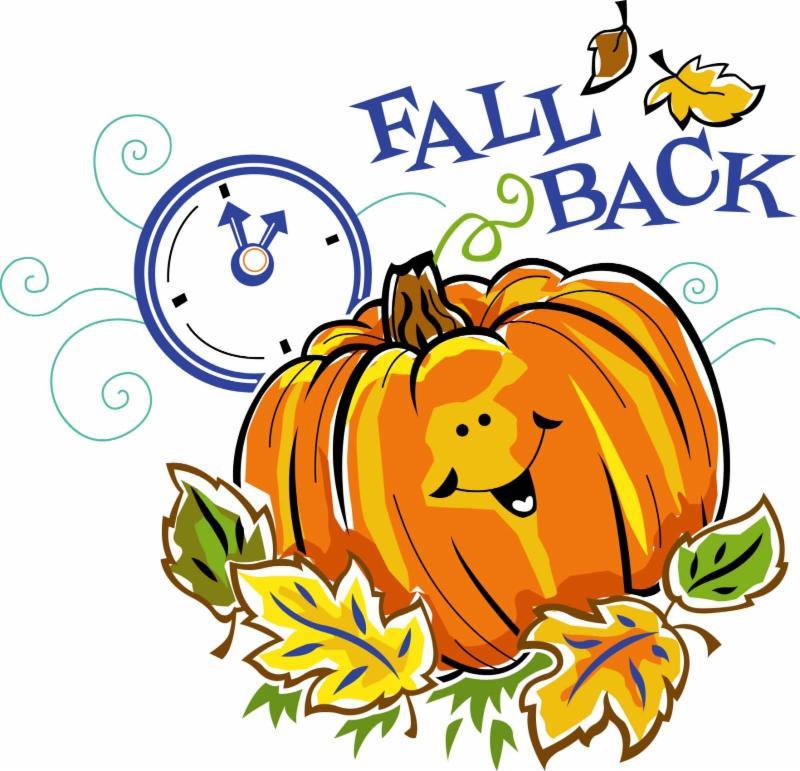 Daylight Savings Time - Fall Back clipart