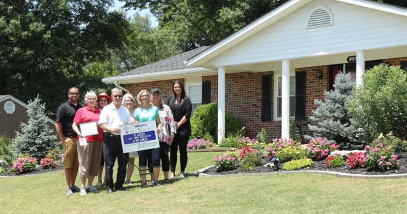 Congratulations to Bill and Judy Halmich, the July Washington in Bloom Yard of the Month winners