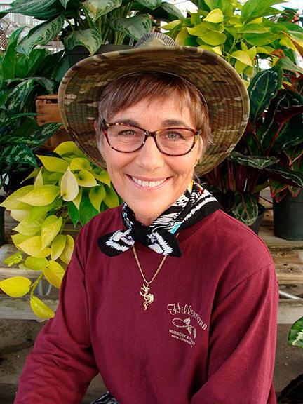 Leslie Mahin - staff member at Hillermann Nursery and Florist