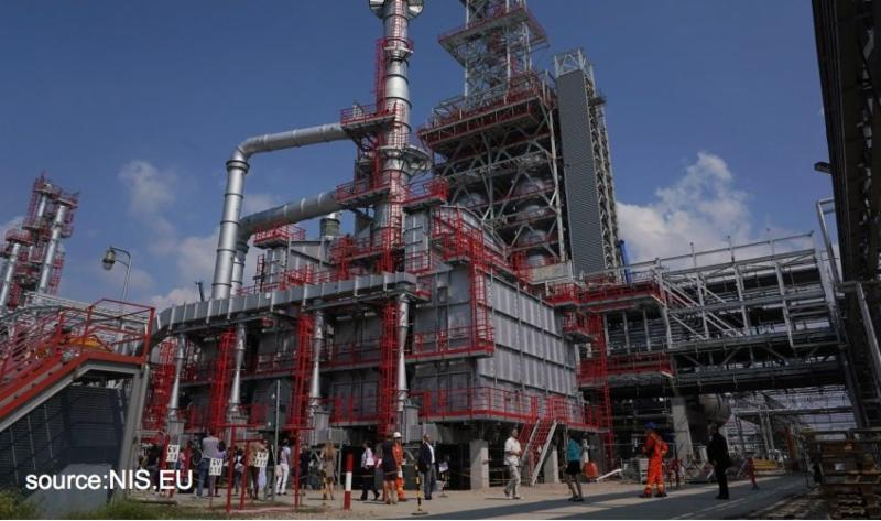 new delayed coker for Pancevo Refinery in Serbia