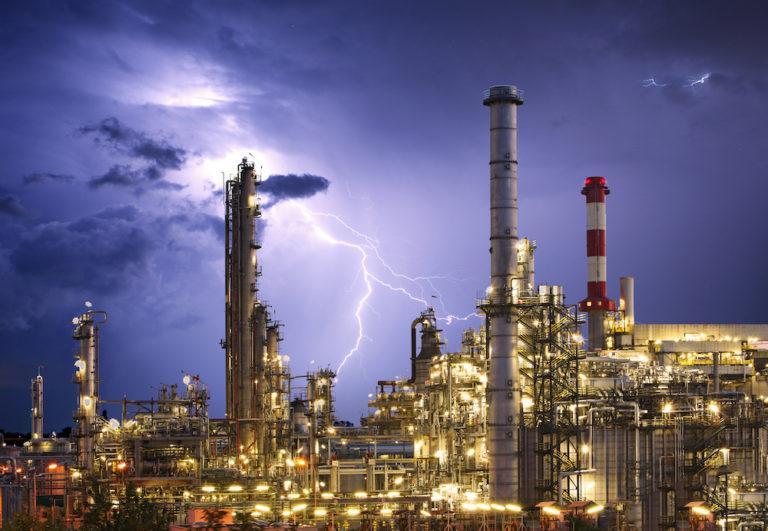 lightning strikes chevron el segundo refinery