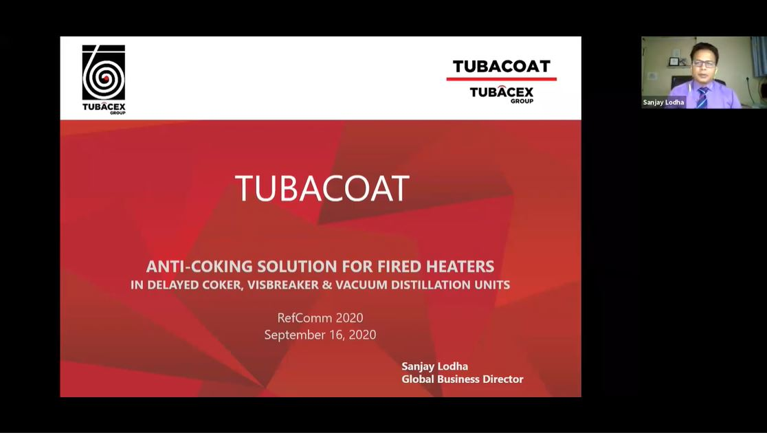 """Tubacoat - Anti-coking Solution for DCU Fired Heater Tubes"""""""