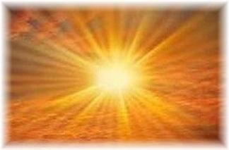 Great Rays of His Eternal Presence
