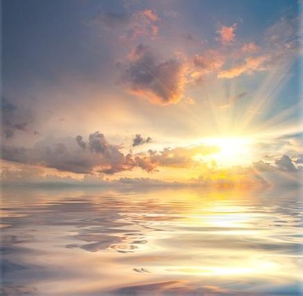 Muy gentilmente Dios brilla sobre sí mismo.