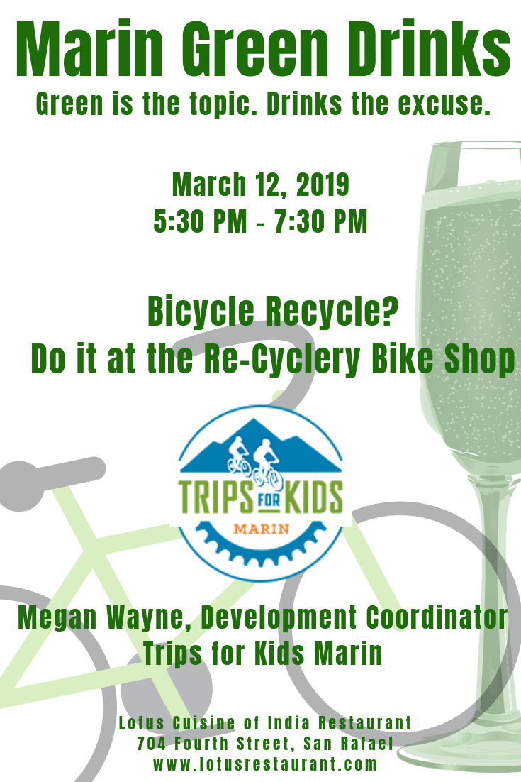 March 2019 Marin Green Drinks