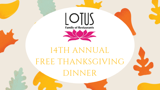 14th Annual Free Thanksgiving Dinner