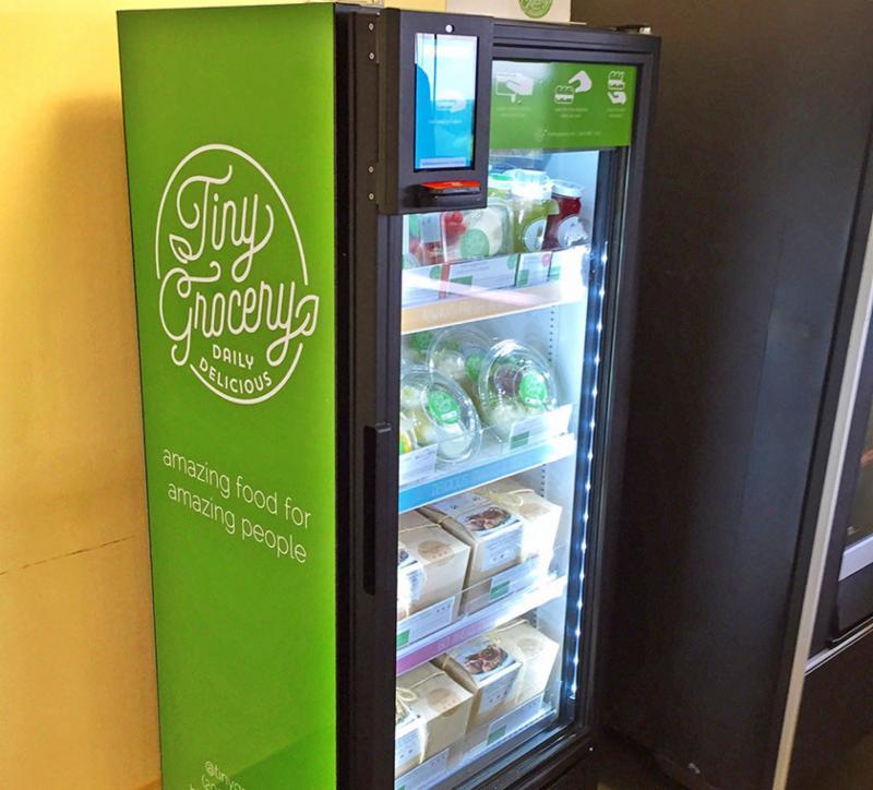 Tiny Grocery Vending Machine