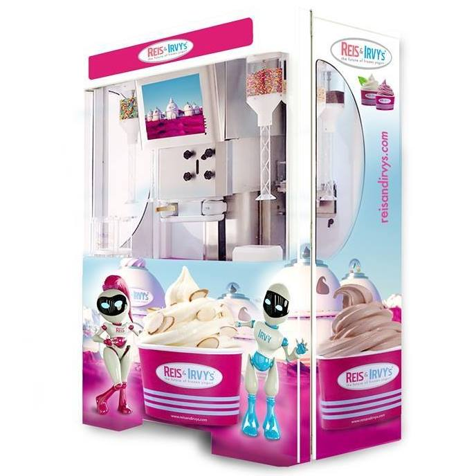 The Froyo Robot Frozen Yogurt Vending Machine