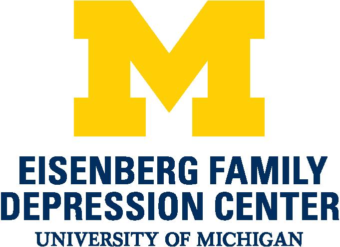 Logo for the University of Michigan Eisenberg Family Depression Center
