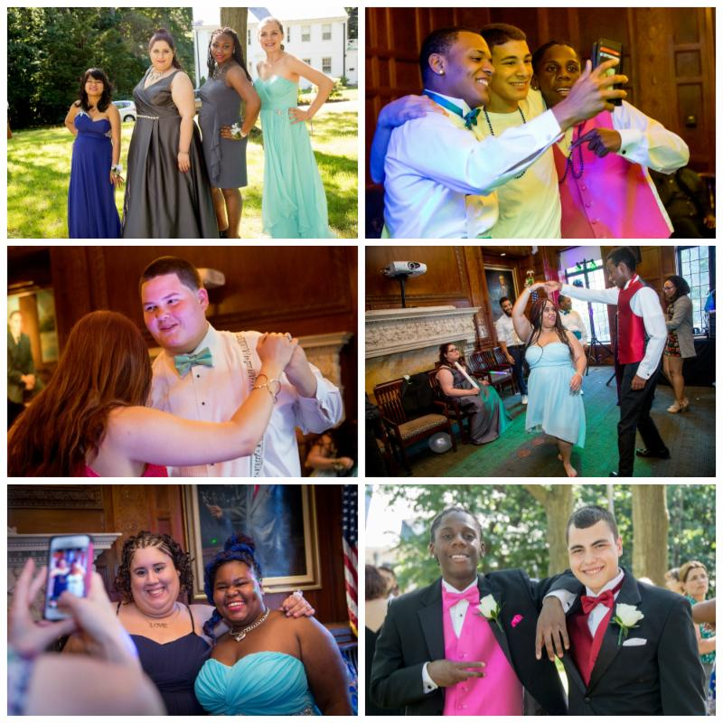 A collage of Prom 2016 photos