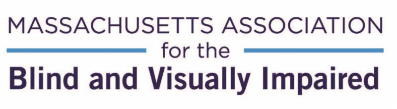 Logo for Massachusetts Association for the Blind and Visually Impaired
