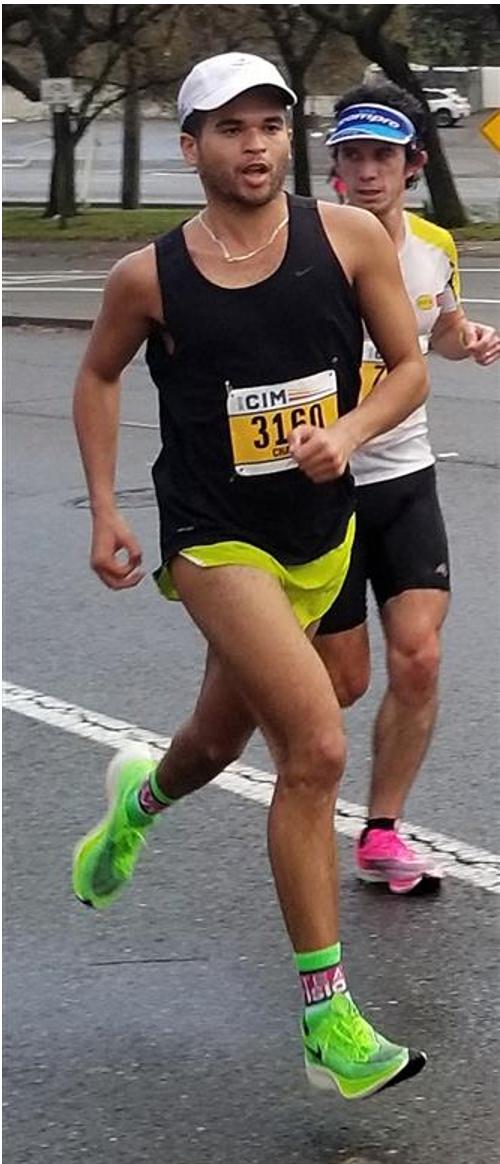 Chaz Davis running