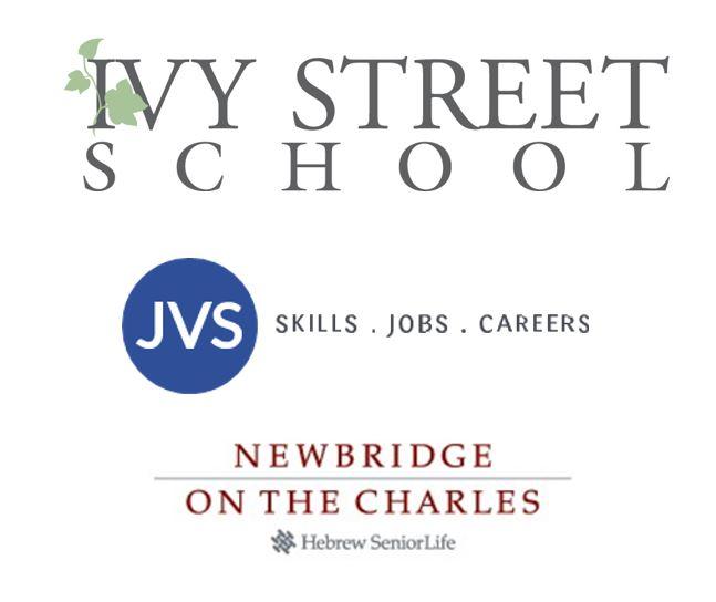 Ivy Street, Hebrew Life and JVS logos