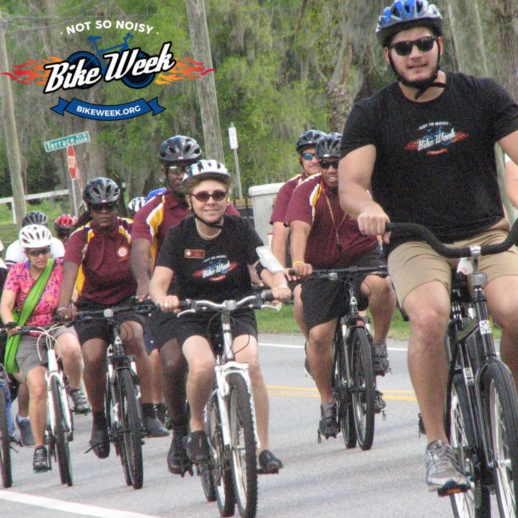 Not So Noisy Bike Week Ride is Saturday March 2