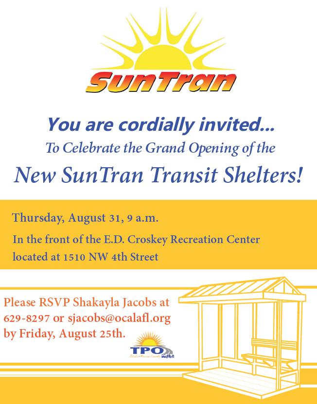 New SunTran Transit Shelters
