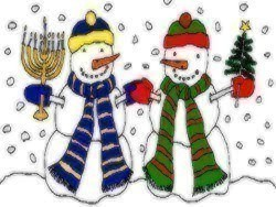 how ever you celebrate this holiday season may it be filled with family friends love and laughter and in good health merry christmas happy hanukkah