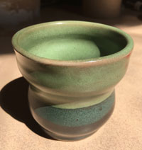 New pot from the kiln