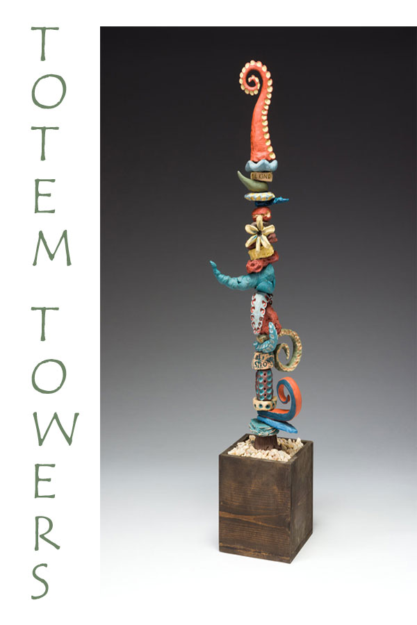 Totem Tower by K. Tyrell